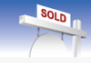 100X70 Sold Sign